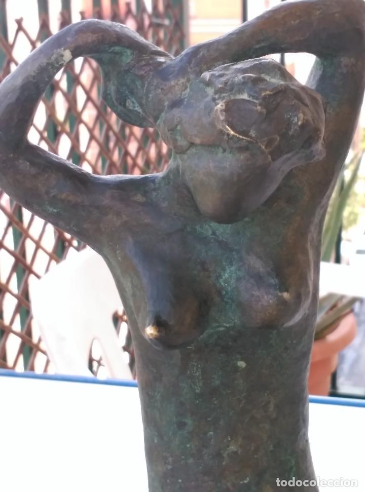 Arte: FIGURA FEMENINA EN BRONCE - Foto 6 - 42095599