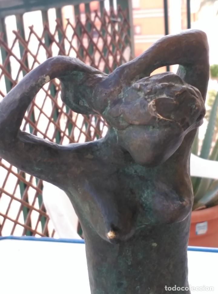 Arte: FIGURA FEMENINA EN BRONCE - Foto 7 - 42095599