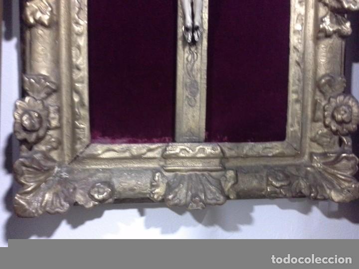 Arte: Cuadro cristo de marfil. S.XVIII - Foto 7 - 62069092