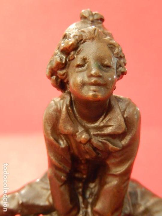 Arte: Escultura de bronce. Firmada - Foto 8 - 62228828