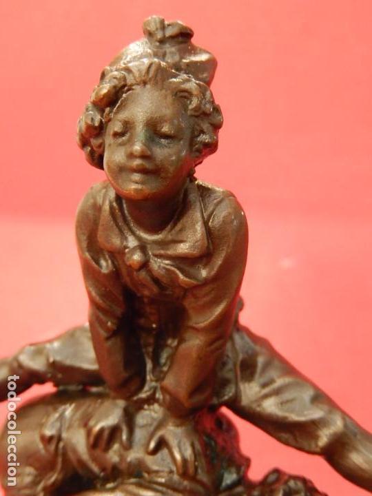 Arte: Escultura de bronce. Firmada - Foto 9 - 62228828