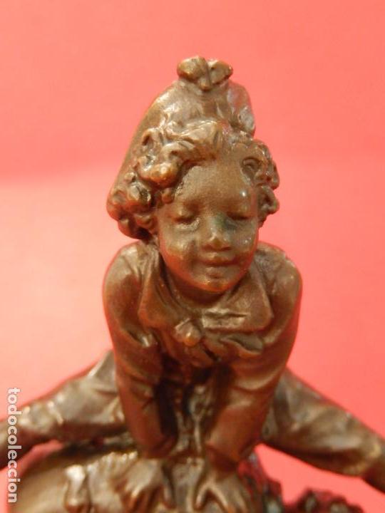 Arte: Escultura de bronce. Firmada - Foto 10 - 62228828