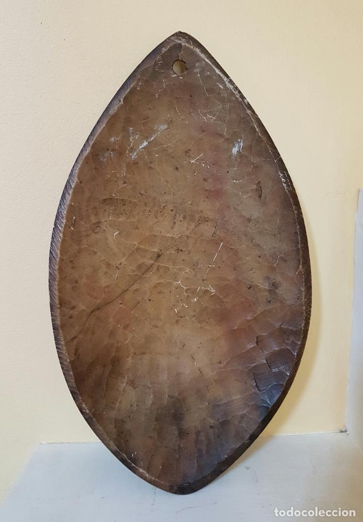 Arte: Máscara antigua de arte azteca en pìedra tallada a mano . - Foto 6 - 63398800