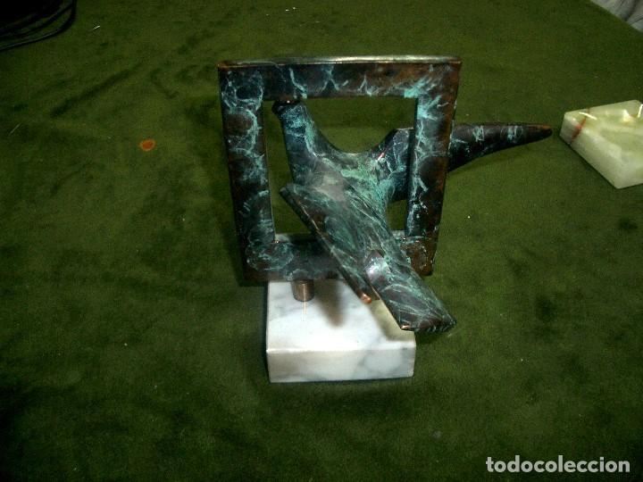 Arte: BRONCE DE AVE FIRMADO Y NUMERADO - SADIA, 17/200 - Foto 3 - 63738643