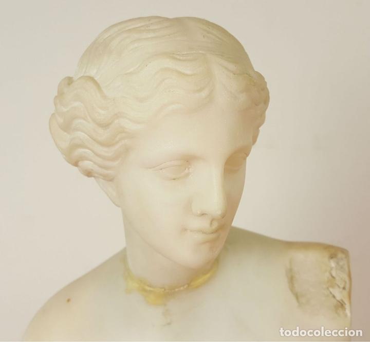 Arte: VENUS DE MILO. ESCULTURA EN MARMOL. SIGLO XIX-XX. - Foto 2 - 151943848