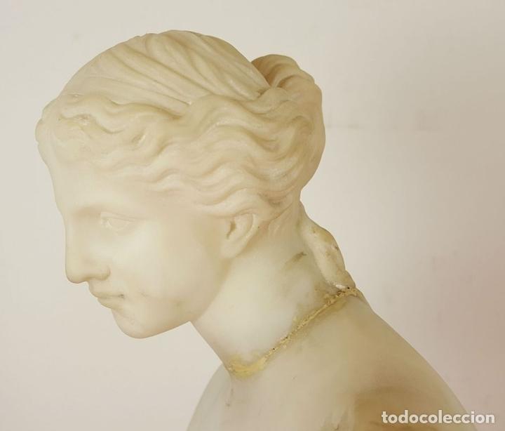 Arte: VENUS DE MILO. ESCULTURA EN MARMOL. SIGLO XIX-XX. - Foto 6 - 151943848