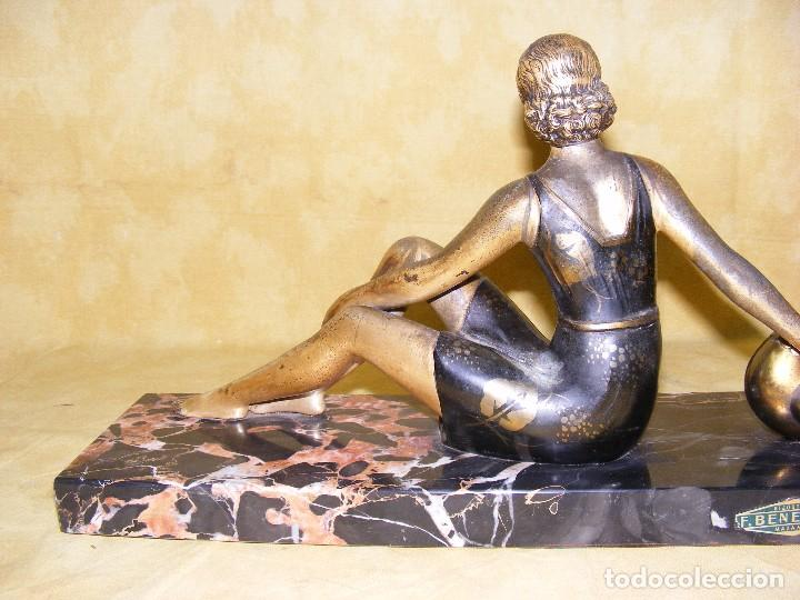 Arte: Escultura art deco1920 - Foto 5 - 65418911