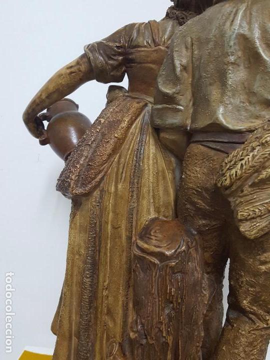 Arte: Escultura terracota SXIX. - Foto 5 - 65623010