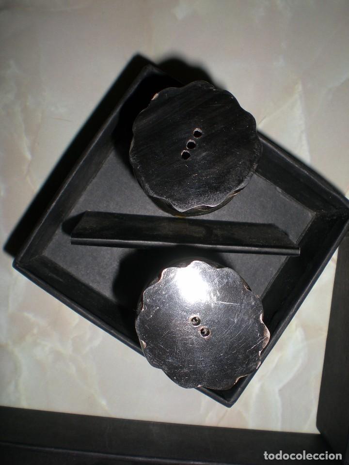 Arte: precioso juego hecho en asta y hueso o marfil edición de coleccionista del corte ingles sin uso - Foto 4 - 66004046