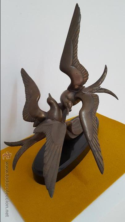 Arte: Escultura Art Decó. - Foto 4 - 54621476
