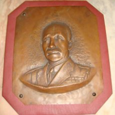 Arte: MUY INTERESANTE ESCULTURA PLANCHA BRONCE FIRMADO P. CORBERO 1927 TEMA MILITAR GENERAL DE DIVISION . Lote 67060486
