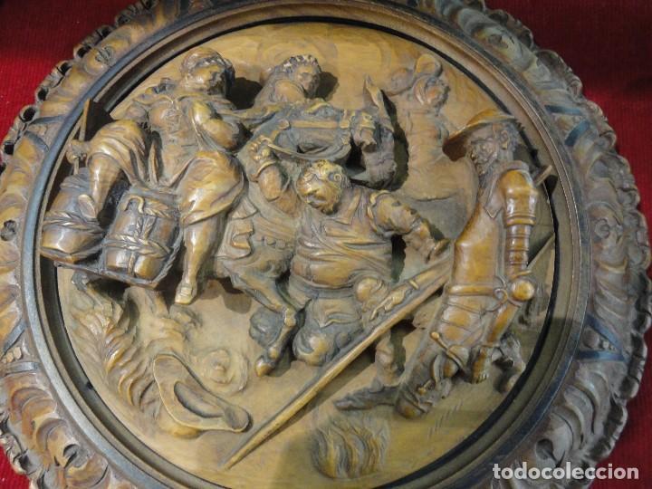 PLAFON TALLADO EN MADERA (Arte - Escultura - Madera)