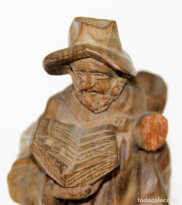 escultura campesino madera tallada espa a si comprar esculturas de madera antiguas en On esculturas de madera