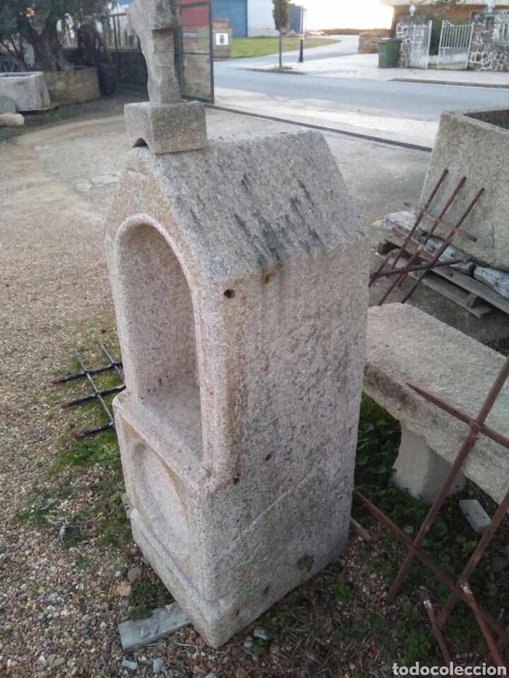 Oratorio capilla hornacina en piedra de granito comprar for Granito en piedra