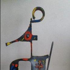 Arte: JOAQUIM FALCÓ PUJOL .ESCULTURA TITULADA GUERRERO. Lote 71258359