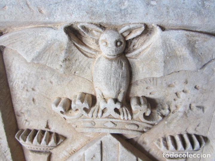 Arte: Antiguo Escudo de Valencia Realizado en Piedra - Foto 7 - 27425823