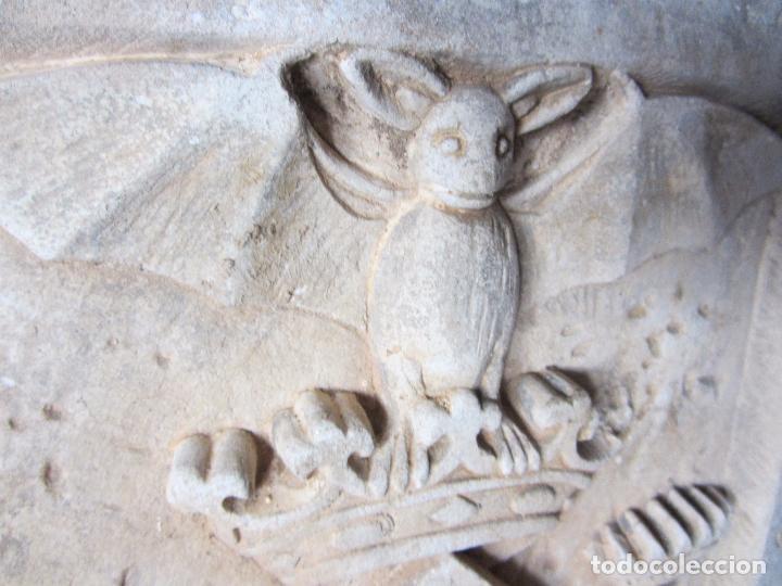 Arte: Antiguo Escudo de Valencia Realizado en Piedra - Foto 9 - 27425823