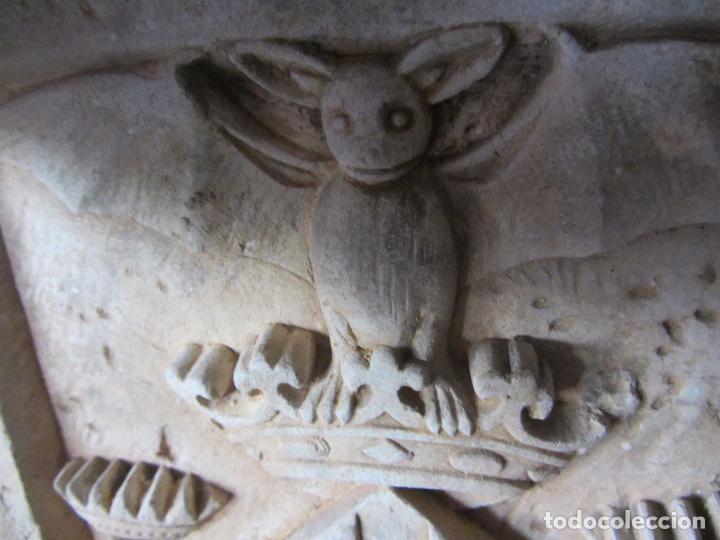 Arte: Antiguo Escudo de Valencia Realizado en Piedra - Foto 10 - 27425823