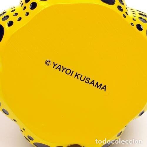 Arte: YAYOI KUSAMA Escultura calabaza Sculpture Pumpkin ( Yellow / Black ) - Foto 3 - 72874419