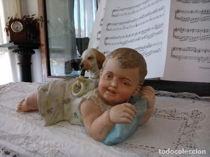 Arte: Niño con perro - Foto 2 - 73051107
