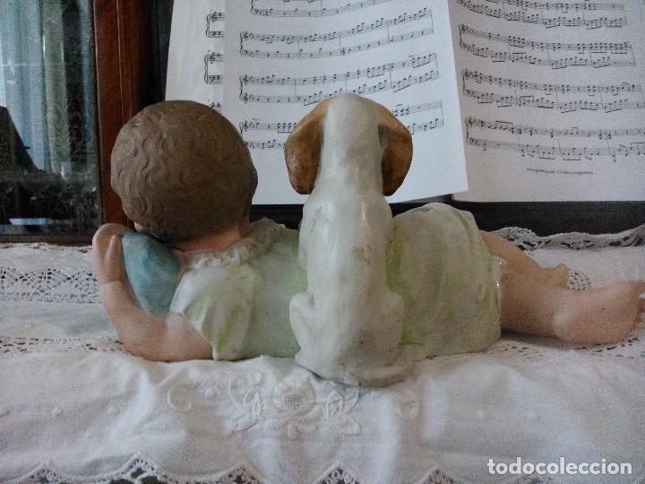 Arte: Niño con perro - Foto 5 - 73051107