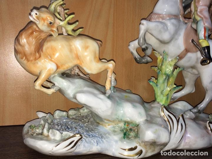 Arte: Antiguo centro de porcelana 35x30x17(solo recogida en mano) - Foto 3 - 75224842
