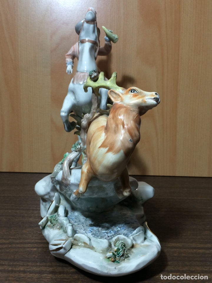 Arte: Antiguo centro de porcelana 35x30x17(solo recogida en mano) - Foto 11 - 75224842