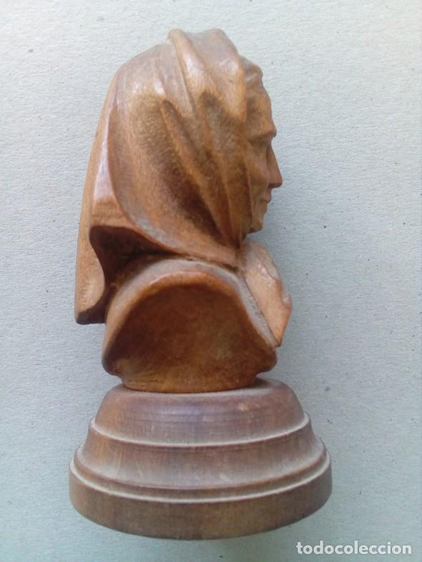 Arte: PEQUEÑA TALLA EN MADERA REPRESENTANDO ANCIANA - Foto 2 - 80120549