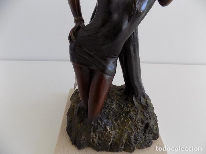 Arte: URREGUI: Escultura de una pareja de enamorados. (Nueva, con certificado) - Foto 10 - 80684562