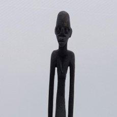 Arte: ESCULTURA AFRICANA HECHA EN MADERA POR TRIBUS DE TANZANIA.. Lote 81135236