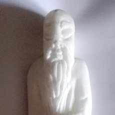 Arte - Figura de Monje oriental en alabastro, producción española - 82340856