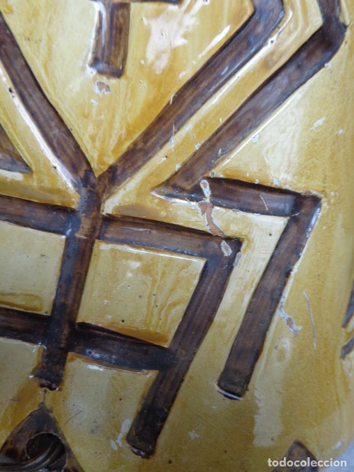 Arte: TERRACOTA ESMALTADA - COLY. MOCHICA -PERU- ES LAMPARA - TAL VEZ AÑOS 60 - Foto 6 - 82619320