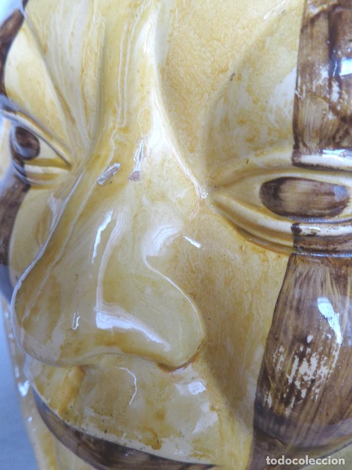 Arte: TERRACOTA ESMALTADA - COLY. MOCHICA -PERU- ES LAMPARA - TAL VEZ AÑOS 60 - Foto 9 - 82619320
