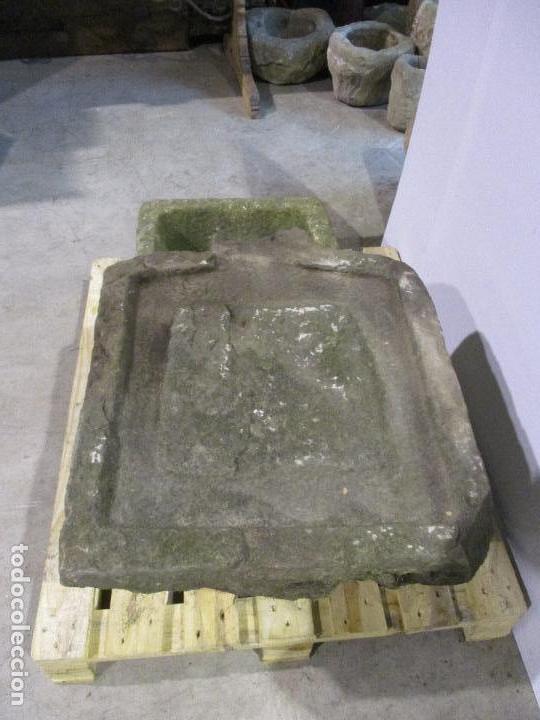 arte antigua fuente pica pila piedra tallada para jardn decoracin