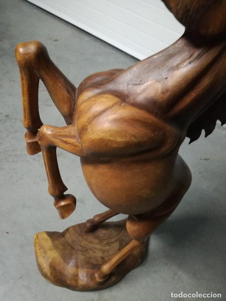 Arte: PRECIOSA TALLA DE CABALLO EN MADERA DE ROBLE. - Foto 5 - 83885068