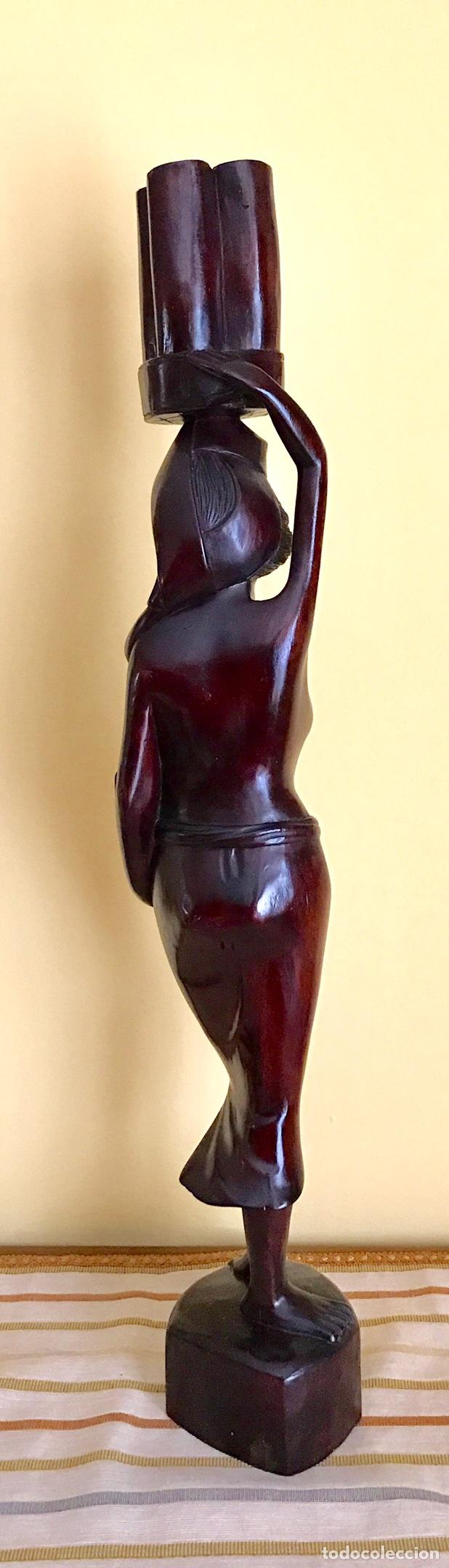 Arte: Figura Mujer desnuda Talla Madera - Foto 2 - 84684816