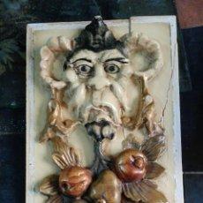 Arte: PAREJA CUARTERONES TALLADOS. Lote 85084282