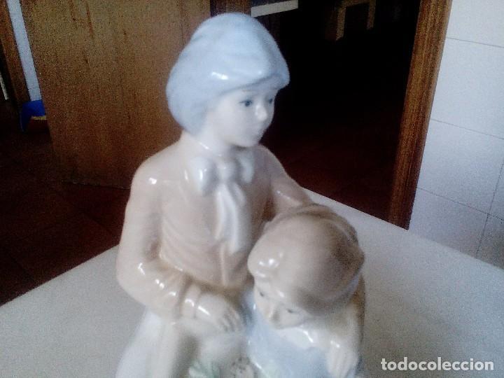 Arte: Pareja romántica de porcelana fina - Foto 3 - 85342324
