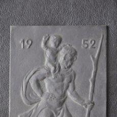 Arte: ESCULTURA DE HIERRO , PLACA DE COLGAR . BUDERUS 1952 , JOSEPH ENSELING . Lote 86926748