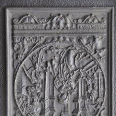 Arte: ESCULTURA DE HIERRO , PLACA DE COLGAR . BUDERUS - DIE GEBURT CHRISTI 1948 . Lote 86934368