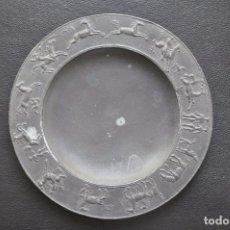 Arte: PLATO DE CALAMINA , ESCULTURA CON SIGNOS DEL HOROSCOPO DE FRITZ NUSS. Lote 86935904