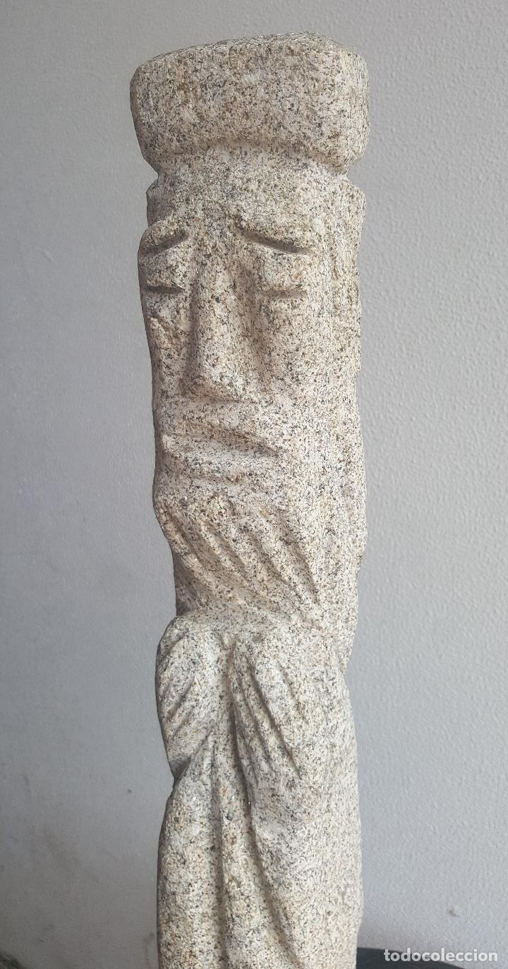 Arte: Escultura piedra personaje. - Foto 3 - 88964440