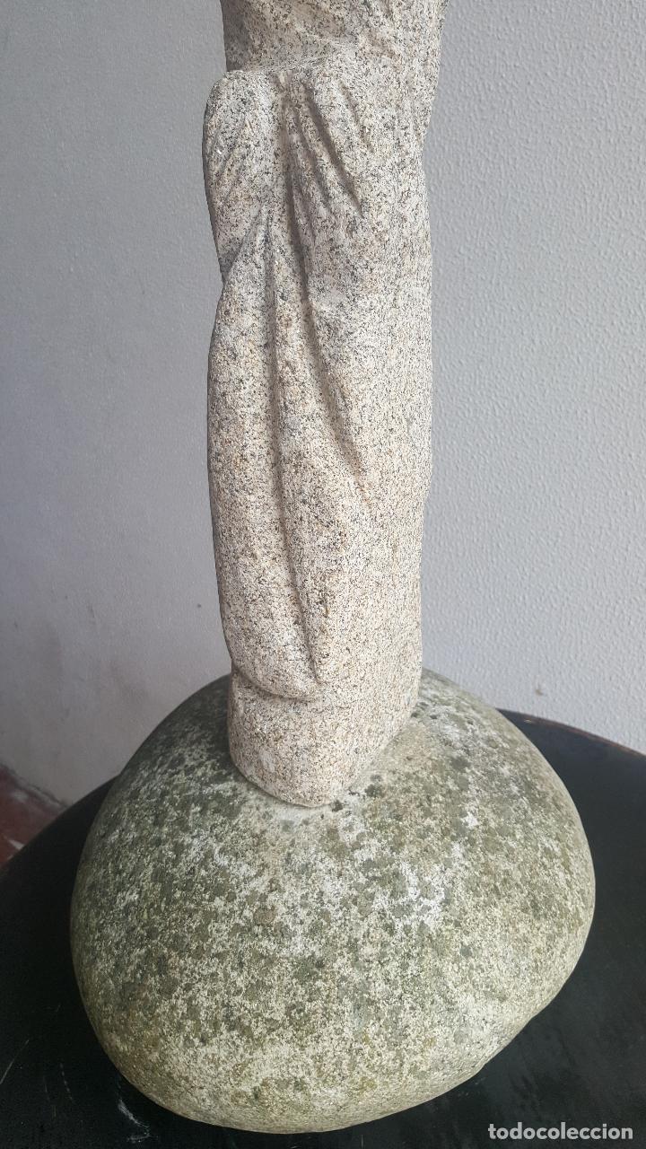 Arte: Escultura piedra personaje. - Foto 4 - 88964440