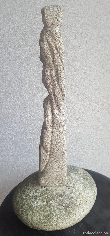 Arte: Escultura piedra personaje. - Foto 5 - 88964440