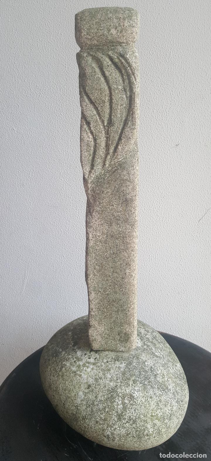 Arte: Escultura piedra personaje. - Foto 6 - 88964440