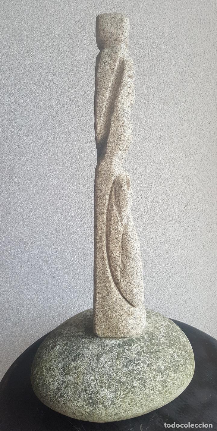 Arte: Escultura piedra personaje. - Foto 7 - 88964440