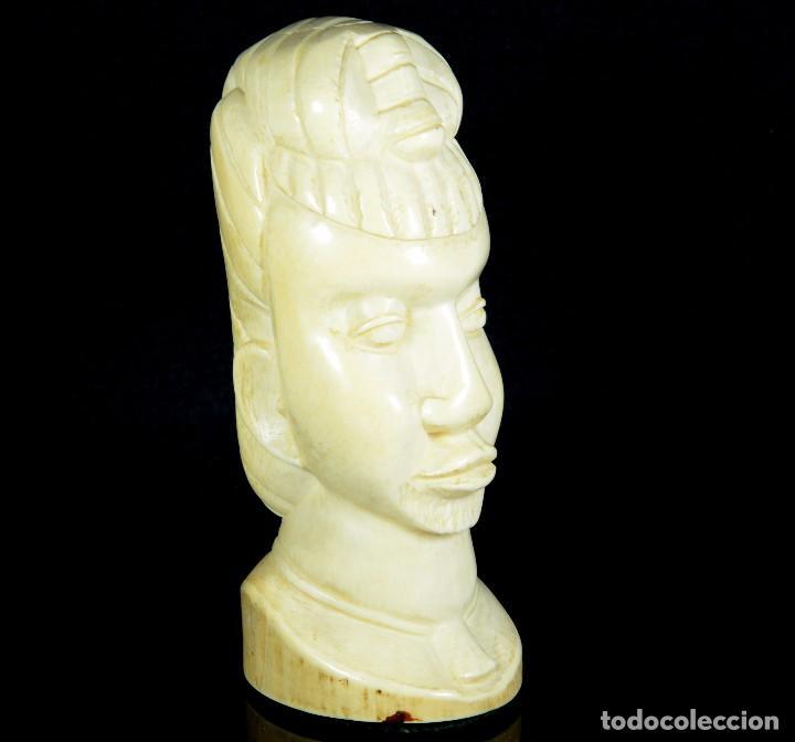 Arte: Precioso y Antiguo Busto africano - Foto 2 - 89435660