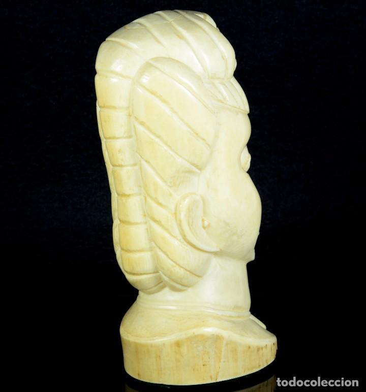 Arte: Precioso y Antiguo Busto africano - Foto 3 - 89435660