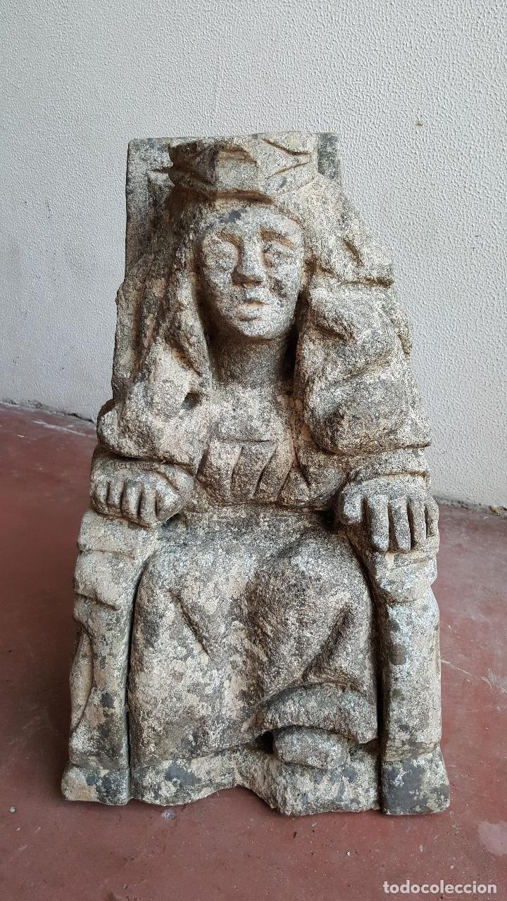 Arte: Escultura de piedra preciosa. Figura piedra. Arte piedra. - Foto 2 - 89641556