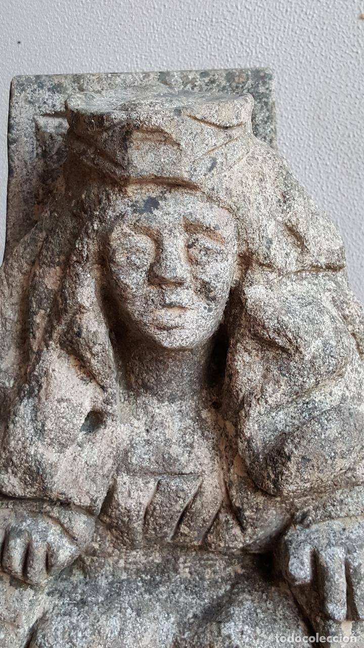 Arte: Escultura de piedra preciosa. Figura piedra. Arte piedra. - Foto 3 - 89641556